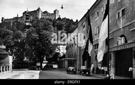 Großes Festspielhaus (Great Festival Hall), Salzburg, Austria. Early 20th century. - Stock Photo