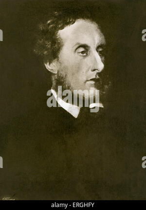 Anthony Ashley-Cooper, 7th Earl of Shaftesbury. English politician, philanthropist and social reformer. 28 April - Stock Photo