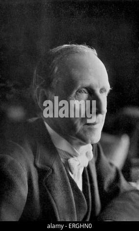 John Morley, 1st Viscount Morley of Blackburn.  British Liberal statesman, writer and newspaper editor. 24 December - Stock Photo