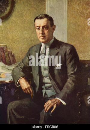 a biography of woodrow thomas wilson the 28th president of the united states Usa (effects of a stroke) birth name, thomas woodrow wilson  28th  president of the united states, 4 march 1913 - 3 march 1921 was awarded the  1919.