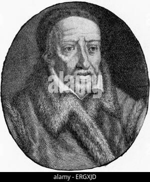 George Buchanan: Scottish historian and humanist scholar, February 1506 - 28 September 1582. - Stock Photo