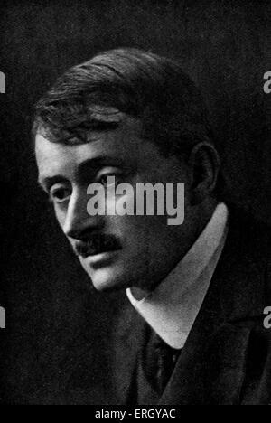 John Masefield:   English poet and writer, and Poet Laureate, 1 June 1878 – 12 May 1967. - Stock Photo
