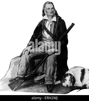 John James Audubon, American writer and painter. 1785-1851. - Stock Photo