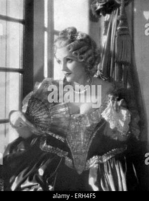 Benita Hume as the Duchess Marie Auguste from 'Jew Süss, Scenario of the film' based on the book by Lion Feuchtwanger, - Stock Photo