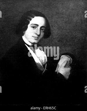 Charles Dickens, English novelist: 7 February 1812 – 9 June 1870. - Stock Photo