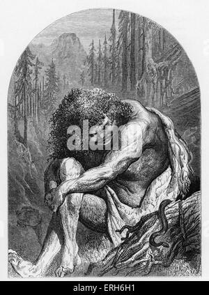 William Shakespeare 's play 'The Tempest' - Act II -  Scene 2 - Another part of the Island - Caliban: ' All the - Stock Photo