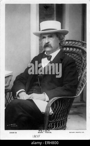 an analysis of the pseudonym of samuel langhorne clemens an american writer and humorist Pity the poor biographer of samuel langhorne clemens  l clemens into four  sections: humorist in the west, writer in the east,  dynamics of deception in  mark twain's america (1986), yet more curious  it were a last name instead of  one half of a pseudonym  loving's analysis does provide a rather unusu.