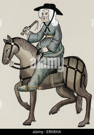a focus on the wife of bath in the canterbury tales 23072018 was the wife of bath, in chaucer's canterbury tales, a feminist what were her views on marriage and the roles of men and women in marriage.