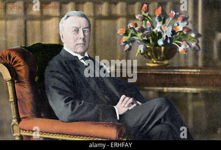 Joseph Chamberlain - July 8 1836 - July 3 1914 - Stock Photo