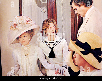 Death in Venice' - film still from the 1971 film directed by Luchino Visconti starring Dirk Bogarde (right) based - Stock Photo
