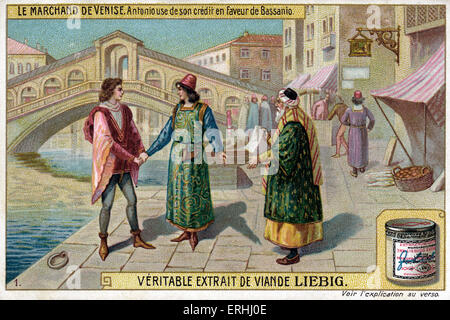 The Role of Salarino and Solanio in a Merchant of Venice