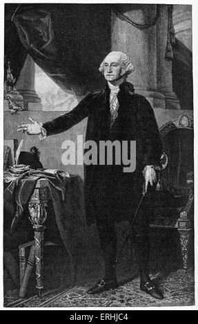 biography of george washington the first president of the united states of america Washington, george (11 february 1732–14 december 1799), first president of the united states, was born in westmoreland county, virginia, the son of augustine washington and mary ballhis.