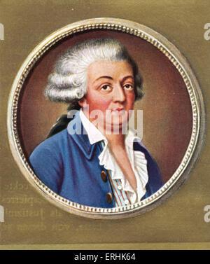Honoré Gabriel Riqueti, comte de Mirabeau. Portrait of the French writer and statesman. - Stock Photo