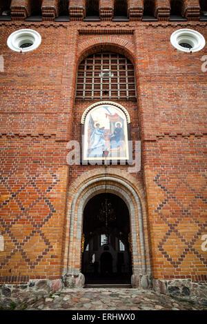 Entrance of Suprasl Orthodox Monastery - Stock Photo