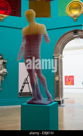 Royal Academy of Arts, London, UK. 3rd June 2015. Over 1,000 artworks are on display, the majority of which are - Stock Photo