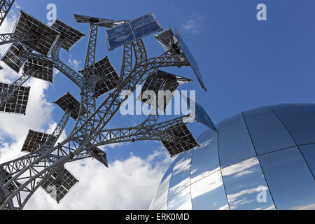 The Energy Tree and planetarium at the At-Bristol science centre in Bristol, UK - Stock Photo
