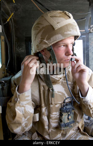 British Forces in Iraq.  A member of the 1st Battalion Devonshire and Dorset Light Infantry on patrol near Basra, Southern Iraq.          Credit: Gary Calton / eyevine  For further information please contact eyevine tel: +44 (0) 20 8709 8709 e-mail: info@eyevine.com www.eyevine.com Credit: Gary Calton / eyevine  For further information please contact eyevine tel: +44 (0) 20 8709 8709 e-mail: info@eyevine.com www.eyevine.com