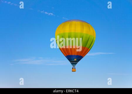 Hot air balloon, Mosel Balloon Fiesta at Trier-Föhren Airport, Föhren, Trier-Saarburg, Rhineland-Palatinate, Germany