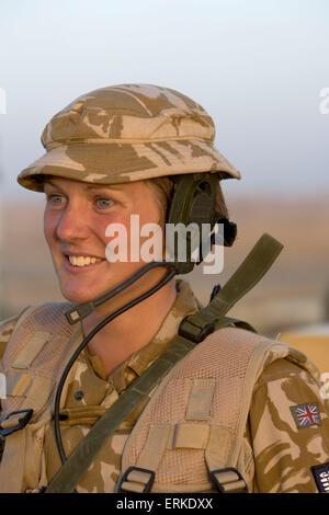 Victoria Wedgewood-Jones patroling with members of the 1st Battalion Devonshire and Dorset Light Infantry on patrol near Basra, Southern Iraq. Credit: Gary Calton / eyevine  For further information please contact eyevine tel: +44 (0) 20 8709 8709 e-mail: info@eyevine.com www.eyevine.com Credit: Gary Calton / eyevine  For further information please contact eyevine tel: +44 (0) 20 8709 8709 e-mail: info@eyevine.com www.eyevine.com