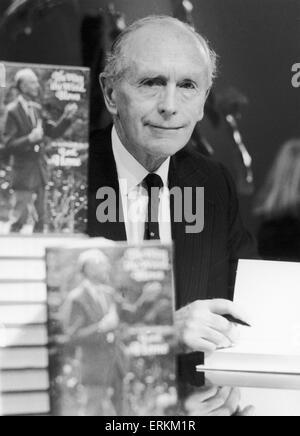 Sir Alec Douglas Home seen here at a book signing session in London's West End to promote his book 'The Way The - Stock Photo