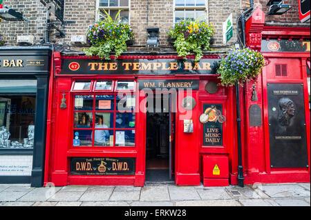 Temple Bar in Temple Street, Dublin, Republic of Ireland, Europe - Stock Photo