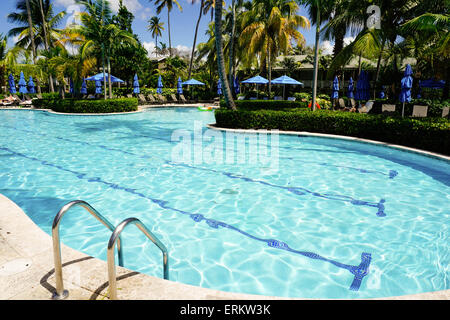 Four Seasons Hotel, Nevis, St. Kitts and Nevis, Leeward Islands, West Indies, Caribbean, Central America - Stock Photo