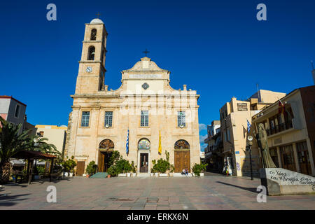 Chania, Crete, Greek Islands, Greece, Europe - Stock Photo