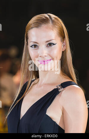 Anna Tsuchiya singer, actress and fashion model attends the Japan premiere for the film ''Mad Max: Fury Road'' in - Stock Photo
