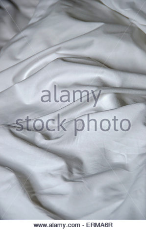 fabric sheet texture. white wrinkled fabric texture background · of wrinkled. bed sheet crumpled. messy - stock photo