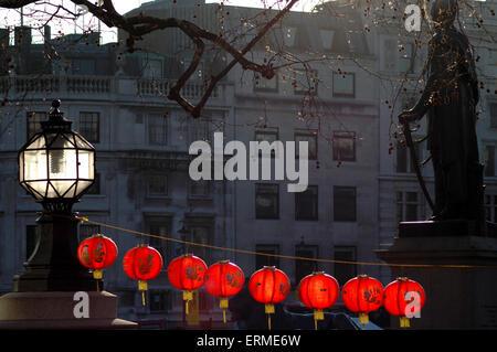CHINESE NEW YEAR IN CHINATOWN LONDON - Stock Photo