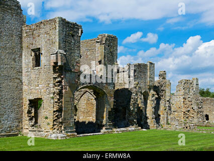 Easby Abbey, near Richmond, North Yorkshire, England UK - Stock Photo
