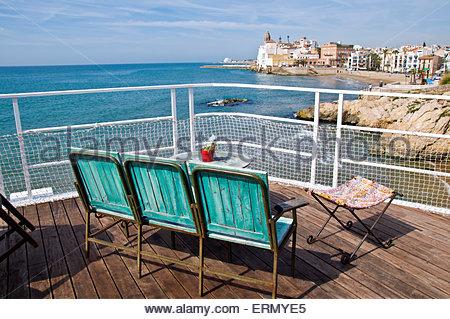 Sitges restaurant el vivero playa balmins garraf for Viveros barcelona