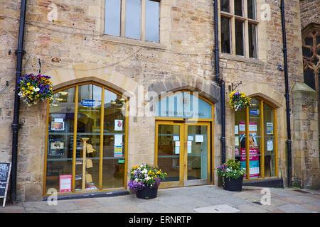 Town Hall Market Place Durham UK - Stock Photo
