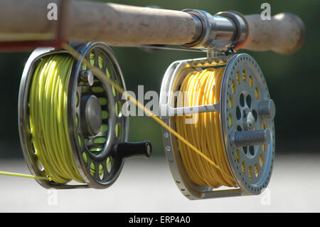 State of the art Fishing reel - Stock Photo