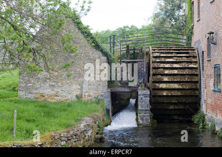 The Old Mill. Lower Slaughter. Cotswolds, Gloucestershire, England - Stock Photo