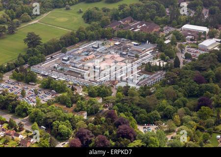 West Suffolk Hospital in Bury St Edmunds, Suffolk, UK - Stock Photo