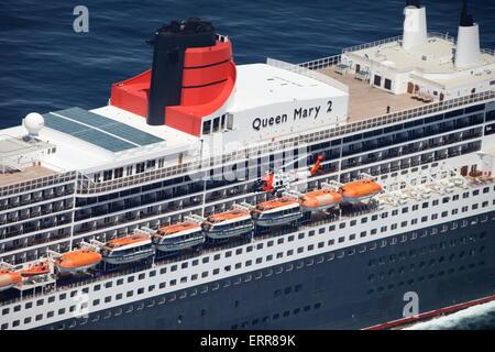 Cruise Ship And US Coast Guard Boat In Miami Florida USA Stock - Us flagged cruise ships