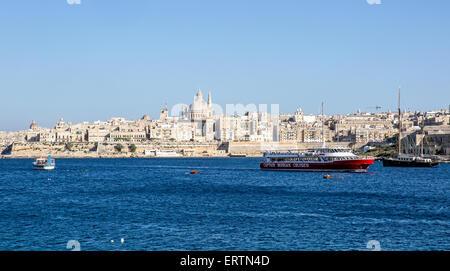 Valletta Malta - Stock Photo