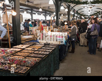 In the French Market, New Orleans, Louisiana, USA - Stock Photo