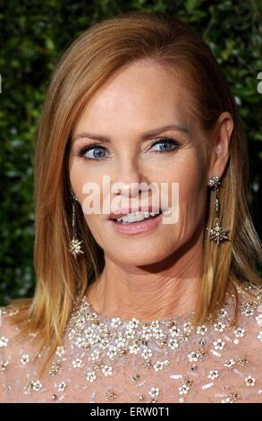 New York, NY, USA. 7th June, 2015. Marg Helgenberger at arrivals for The 69th Annual Tony Awards 2015 - Part 3, - Stock Photo