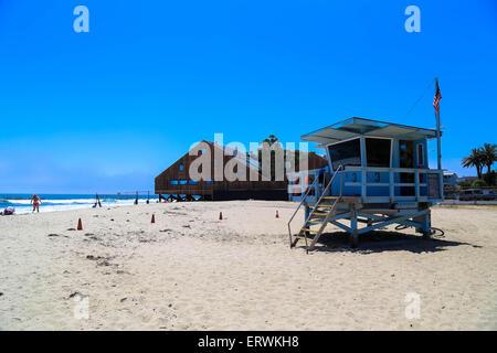 Beach in Malibu, CA - June 2015 - Stock Photo
