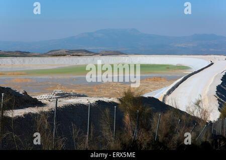 Celestine Mine, Escuzar, Granada province, Region of Andalusia, Spain, Europe - Stock Photo