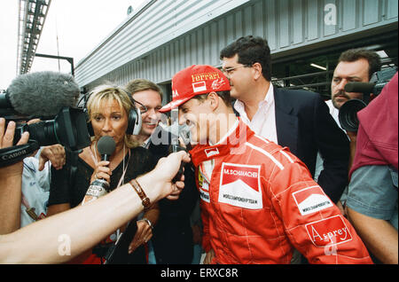 Michael Schumacher born 3 January 1969 is a retired German racing driver. Schumacher is a seven-time Formula One - Stock Photo