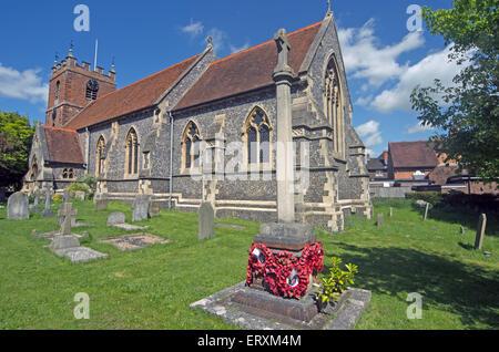 Pangbourne St James the Less Church Berkshire  Restaurant - Stock Photo