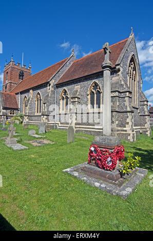 Pangbourne St James the Less Church Berkshire - Stock Photo