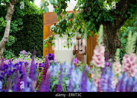 Morgan stanley healthy cities garden rhs chelsea flower show 2015 stock photo royalty free - Chelsea flower show gold medal winners ...
