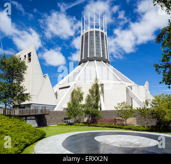 Liverpool Metropolitan Cathedral, Liverpool, Merseyside, England, UK - Stock Photo