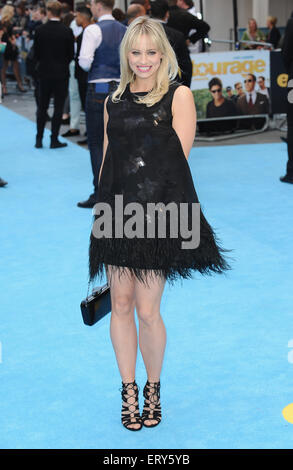 London, UK. 9th June, 2015. Kimberly Wyatt attends the European Premiere of ''Entourage'' at VUE Leciester Square. - Stock Photo