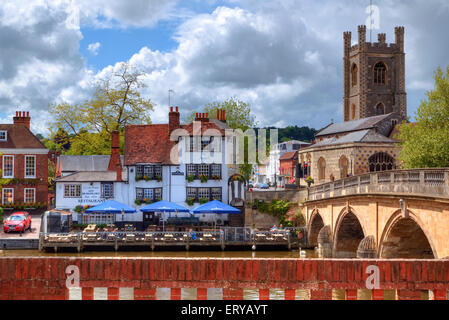 Henley-on-Thames, Oxfordshire, England, United Kingdom - Stock Photo