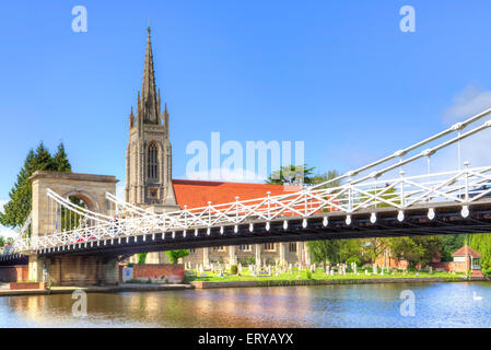 Marlow, Buckinghamshire, England, United Kingdom - Stock Photo